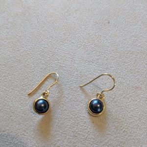 Jewelry - 🌸 3 for $7 🌸 gold and navy earrings